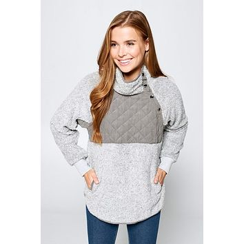 Keep You Warm Sweatshirt - Heather Grey