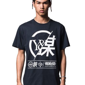 Foreign Exchange Tee - Navy