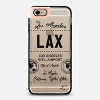 LAX - Los Angeles, CA - Travel The World iPhone 6 case by Love Lunch Liftoff | Casetify