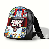 iOffer: Transformers Rescue Bots Backpack Travel Bags School for sale