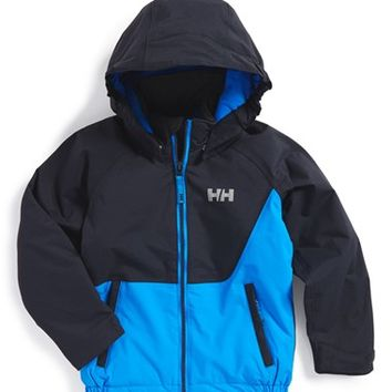 Boy's Helly Hansen 'K Cover' Waterproof Insulated Hooded Jacket ,