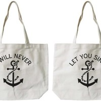 Anchor Canvas BFF Canvas Bags - 365 Printing Inc