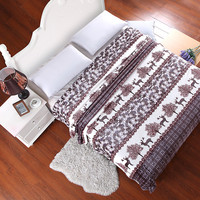 LUXURY kids 120  200CM  blanket boy GIRL plaid for TO on the bed  throw fluffy fleece blankets CORAL SNUGGLE coverlet