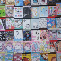 100 Piece KAWAII GRAB BAG!! Brand name Mini Memo Sheets- Random Selection -