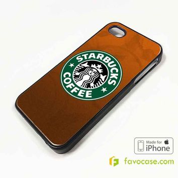 STARBUCKS Coffee Logo iPhone 4/4S 5/5S/SE 5C 6/6S 7 8 Plus X Case Cover