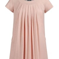 Pleated Flowy Nursing & Maternity Top