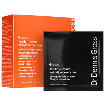 Dr. Dennis Gross Skincare Ferulic + Retinol Wrinkle Recovery Peel (16 treatments)