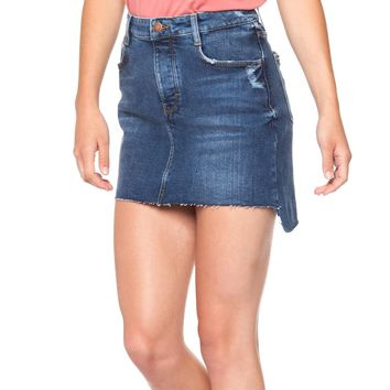 Basic Denim Mini Skirt - Blue Mercy by Dex