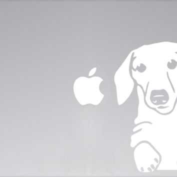 Dachshund MacBook Decal E
