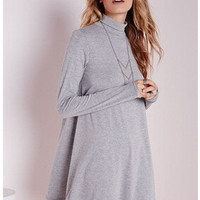 Hot Sale Long Sleeve One Piece Dress [6339033217]
