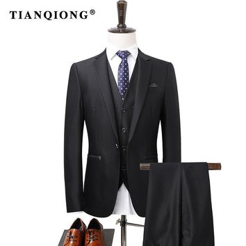 TIAN QIONG High Quality Fashion Men Suit
