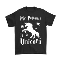QIYIF My Patronus Is A Unicorn Harry Potter Shirts