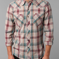 Salt Valley Benjamin Plaid Western Shirt