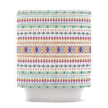 "Nika Martinez ""Native Fiesta"" Shower Curtain"