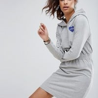 Love Moschino Nasa Love Sweat Dress at asos.com