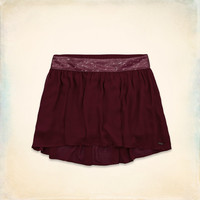 Hollister Chiffon Shine Skirt