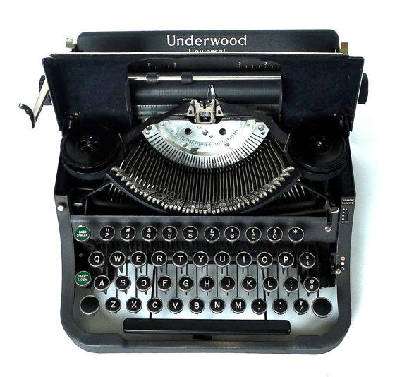 Vintage Underwood Universal Typewriter From Marybethhale