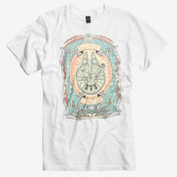 Star Wars Art Nouveau Millenium Falcon T-Shirt
