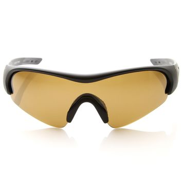Mens Ultra Sports Performance TR-90 Polarized Mono Anti Glare Lens Sunglasses 8676