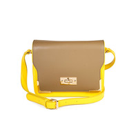 Yellow Box Crossbody Bag by Street Level