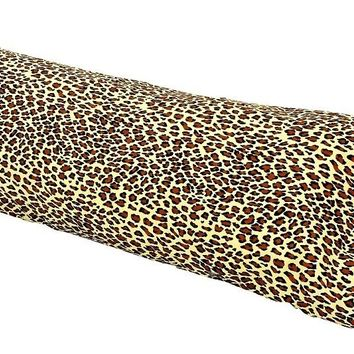 "ANIMAL PRINT BODY PILLOW PROTECTORS- 21""X54"""