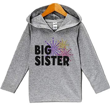 Custom Party Shop Baby Girl's Big Sister New Years Eve Hoodie Pullover