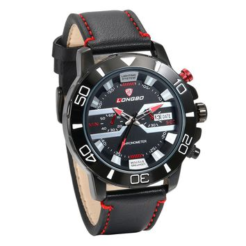 New Men Luxury Fashion Quartz Wrist Watch
