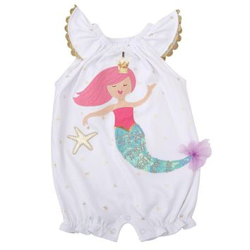 Mermaid Bubble Sequin Outfit