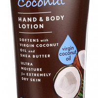 Jason Natural Products Hand And Body Lotion - Smoothing Coconut - 8 Oz