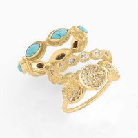 Melinda Maria 'Macbeth' Stackable Rings (Set of 3) (Nordstrom Exclusive)