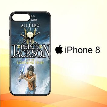 Percy Jackson and the Lightning Thief X0493 iPhone 8 Case