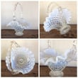 Fenton French Opalescent Basket