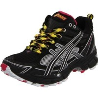 ASICS Women`s GEL-Aztec Mt Running Shoe,Onyx/Black/Lemon,7.5 M US