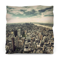 Fifth Ave NYC Throw Pillow
