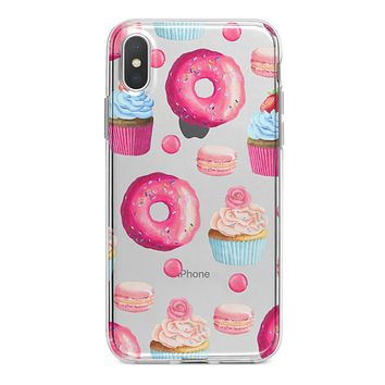 Yummy Galore Bakery Treats - Crystal Clear Hard Case for the iPhone XS MAX, XS & More (ALL AVAILABLE)