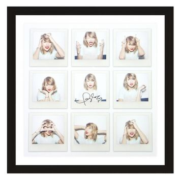 1989™ Nine Photos Litho Signed & Framed