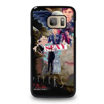 evan peters college samsung galaxy s7 case cover  number 1