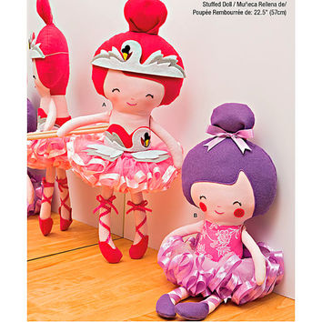 Ballerina Doll Pattern, New Simplicity 1341, Little Girls Doll, Stuffed Doll, Play Doll, Toy Doll
