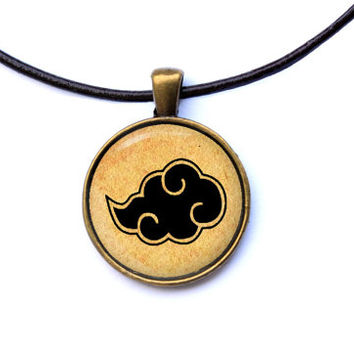 Anime jewelry Naruto necklace Akatsuki pendant