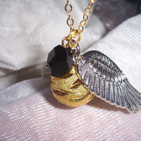 golden snitch with resurrection stone Harry potter by 1luckysoul
