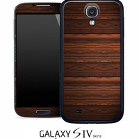 Heavy WoodGrain Skin for the Samsung Galaxy S4, S3, S2, Galaxy Note 1 or 2