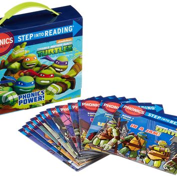 Phonics Power! Teenage Mutant Ninja Turtles: Step into Reading: Phonics BOX