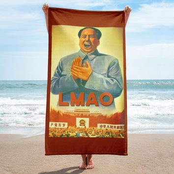 Chairman LMAO Beach Towel