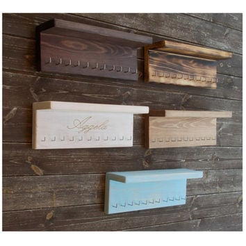 Shop Rustic Wall Key Holder on Wanelo