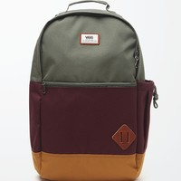 Vans Van Doren II Anchorage School Backpack - Mens Backpacks - Green - NOSZ