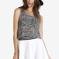 Broadcast Knitted Crop Top