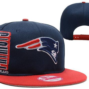 hcxx New England Patriots 9FIFTY NFL Football Hat Dark-Blue