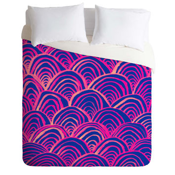 Rebecca Allen All Your Breakers Duvet Cover