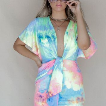 Maddie Tie Dye Dress