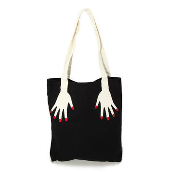 Canvas Stylish Casual Tote Bag Shoulder Bag [8269843079]